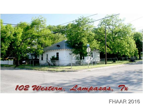Photo of 102 S Western Avenue  Lampasas  TX