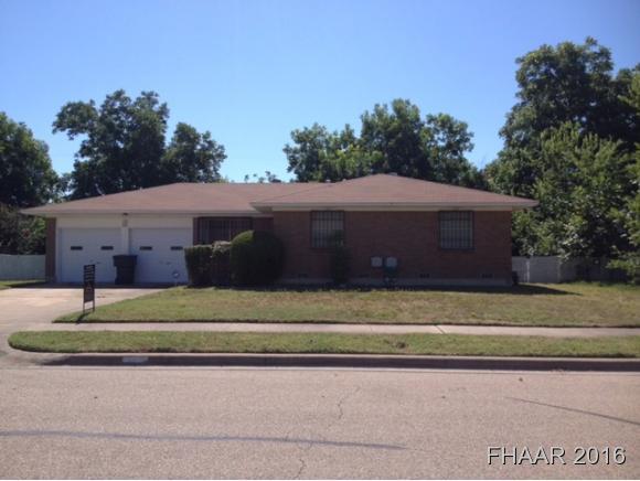 Photo of 1306 Pine Drive  Killeen  TX
