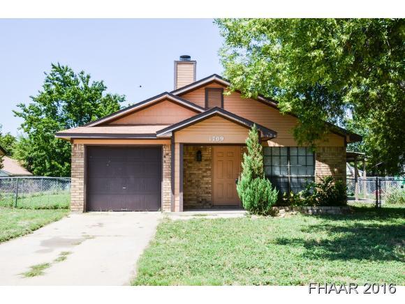 Photo of 1709 Mona Drive  Killeen  TX