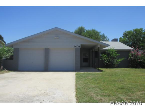 Photo of 2408 Carnation Drive  Killeen  TX
