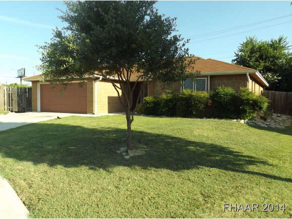 Photo of 415 Baumann Drive  Killeen  TX