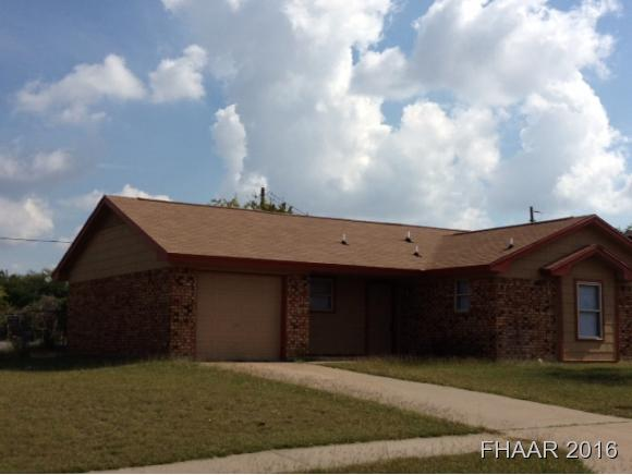 Photo of 3002 Panhandle Drive  Killeen  TX