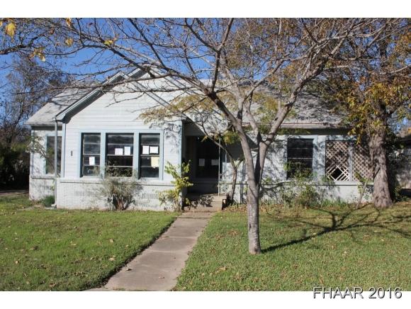 Photo of 1709 Saunders Street  Gatesville  TX