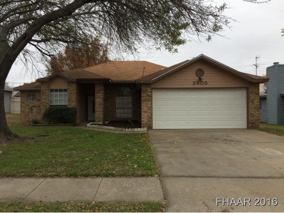 Photo of 2405 Woodlands Drive  Killeen  TX