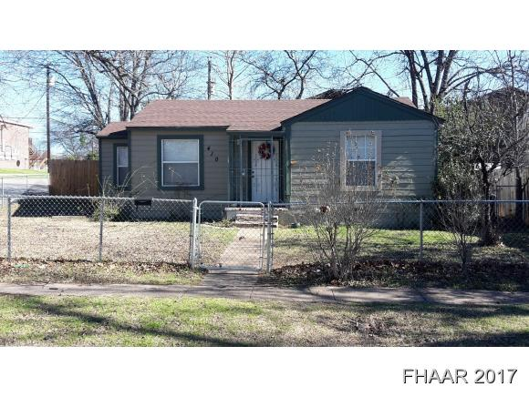 Photo of 410 Wisconsin Street  Killeen  TX