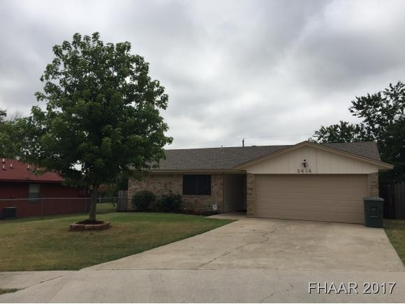 Photo of 3414 Chisolm Trail  Killeen  TX