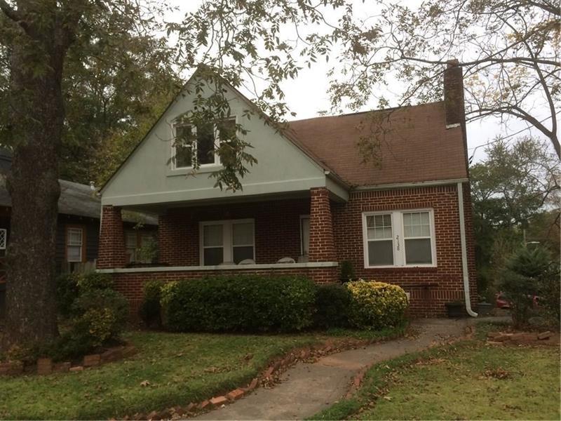 2138 RIDGEDALE Road NE, Kirkwood, Georgia