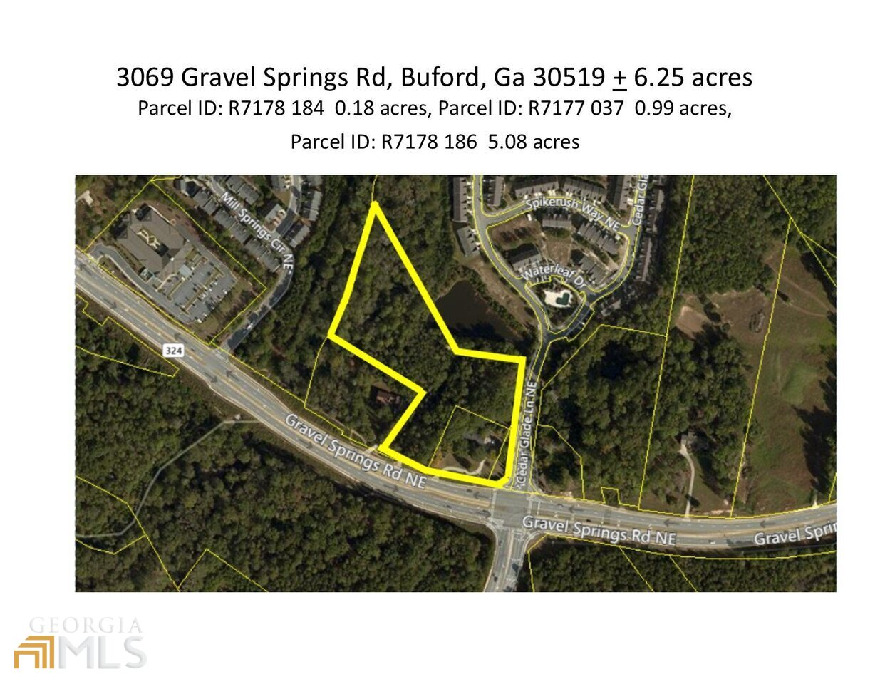 3069 Gravel Springs Rd, one of homes for sale in Buford