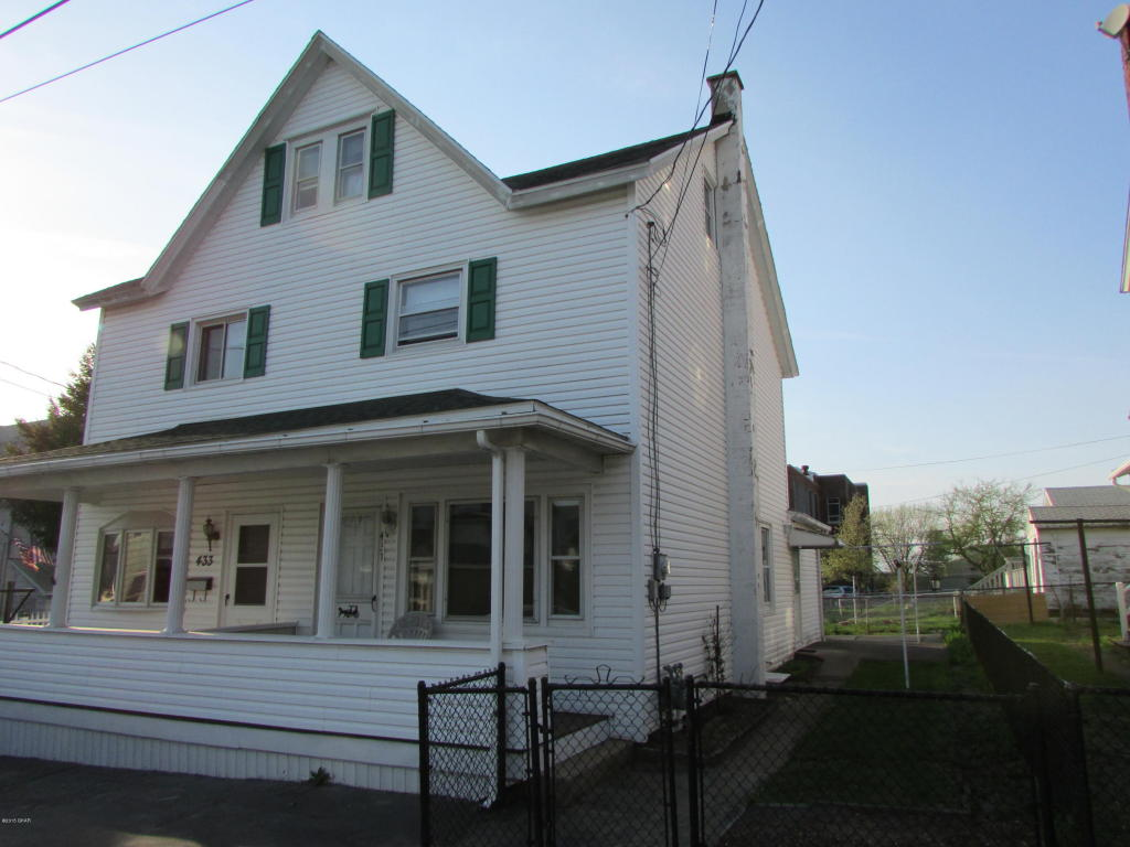 Rental Homes for Rent, ListingId:33183954, location: 431 W 10th street Hazleton 18201