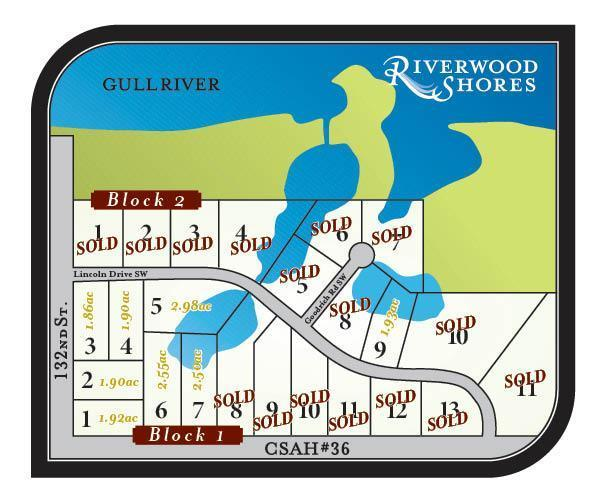Lot 2 Blk 1 Riverwood Shores Pillager, MN 56473