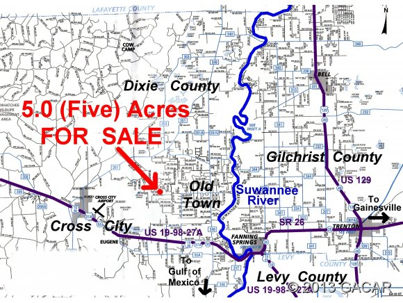 Real Estate for Sale, ListingId: 23258689, Old Town,FL32680