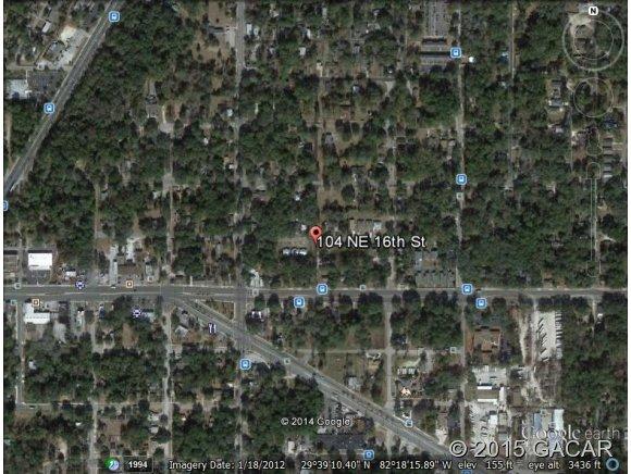 Land for Sale, ListingId:34362583, location: 104 NE 16th Avenue Gainesville 32601