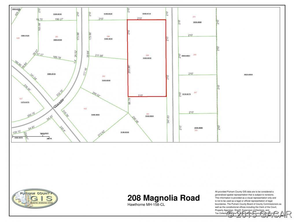 Photo of 208 Magnolia Road  Hawthorne  FL