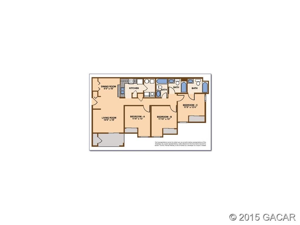 Rental Homes for Rent, ListingId:33602283, location: 3705 SW 27 Street Gainesville 32608