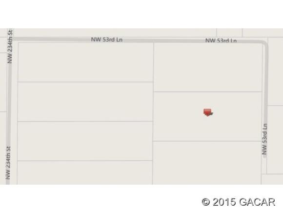 Land for Sale, ListingId:34905974, location: 22933 NW 53rd Lane Newberry 32669
