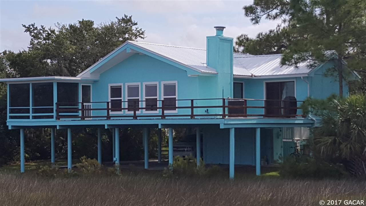 Florida Waterfront Property In Cedar Key Bronson Trenton - Yankeetown florida map