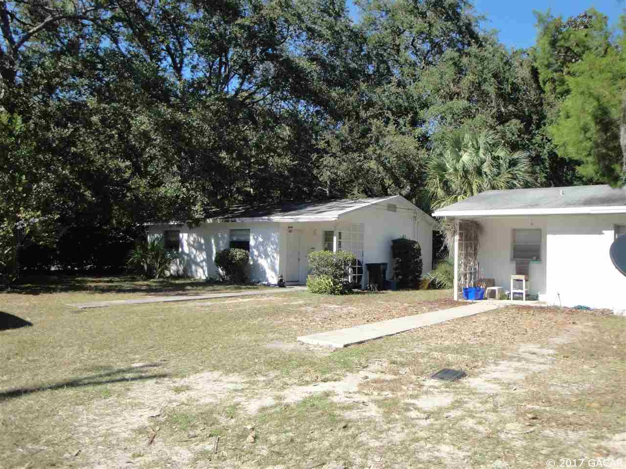 One of Alachua Homes for Sale at 1116 and 1122 NW 31ST Avenue