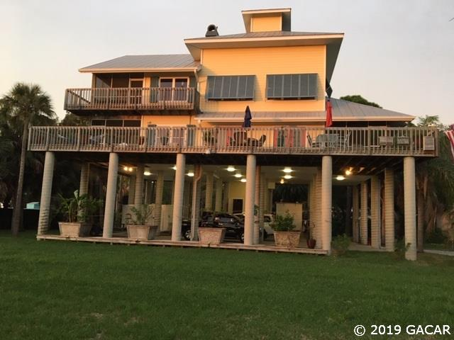 Magnificent Florida Waterfront Property In Cedar Key Bronson Trenton Home Interior And Landscaping Ferensignezvosmurscom