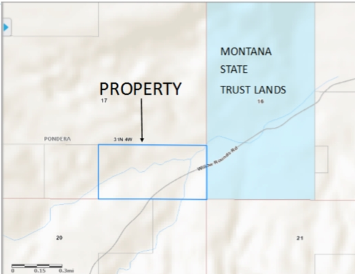 80 acres Valier, MT