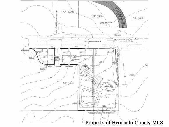 Image of Commercial for Sale near Brooksville, Florida, in Hernando County: 2.12 acres