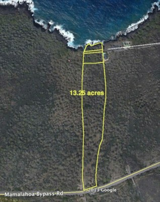 Land for Sale, ListingId:25210941, location: Kailua Kona 96740