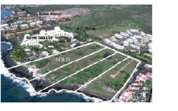 Land for Sale, ListingId:35981263, location: 75-6076 ALII DR Kailua Kona 96740