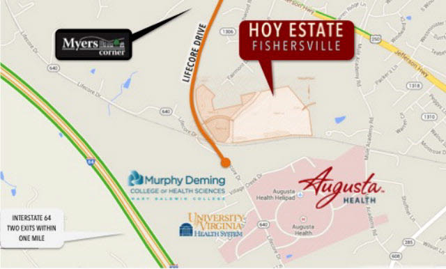 Image of Commercial for Sale near Fishersville, Virginia, in Augusta county: 65.90 acres