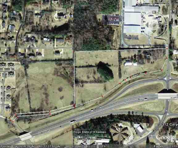 13.73 acres in Hot Springs, Arkansas