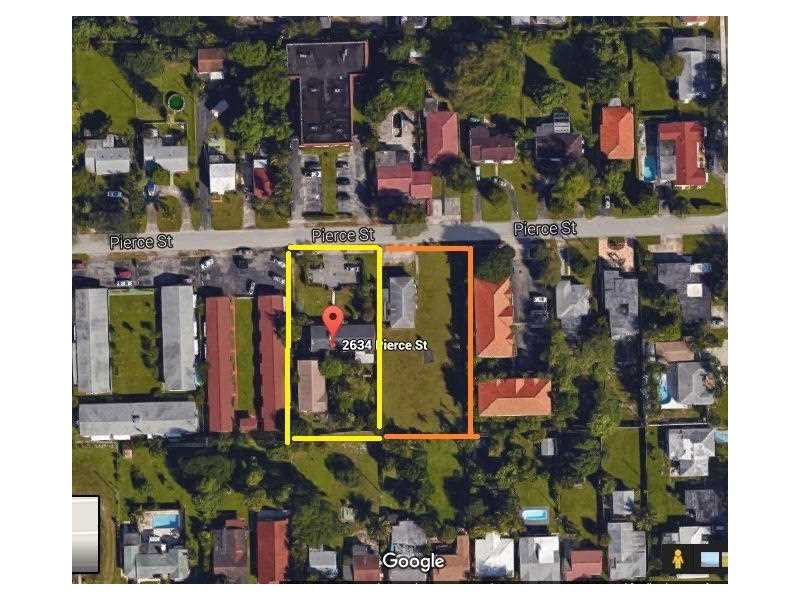 2634 Pierce St, Hollywood in Broward County County, FL 33020 Home for Sale