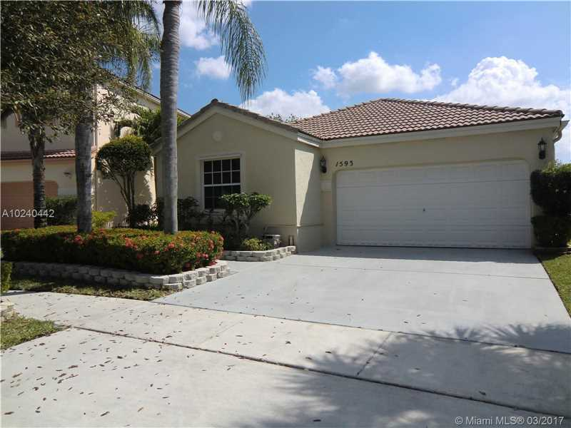 Photo of 1593 NW 158th Ave  Pembroke Pines  FL