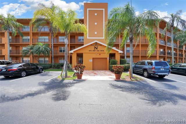 571 SW 141st Ave  #309N, Pembroke Pines in  County, FL 33027 Home for Sale