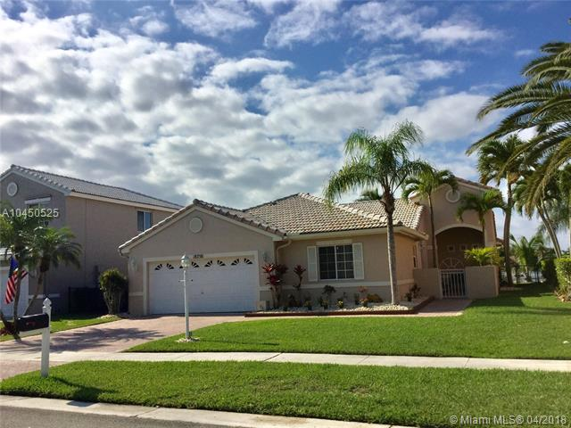 18750 NW 5th St, Pembroke Pines in  County, FL 33029 Home for Sale