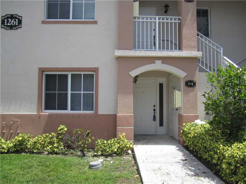 Rental Homes for Rent, ListingId:33344300, location: 1261 SE 27 ST 104 Homestead 33035