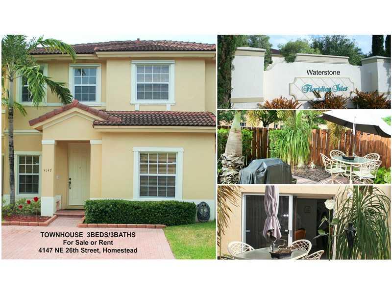 Rental Homes for Rent, ListingId:33635877, location: 4147 NE 26 ST 0 Homestead 33033
