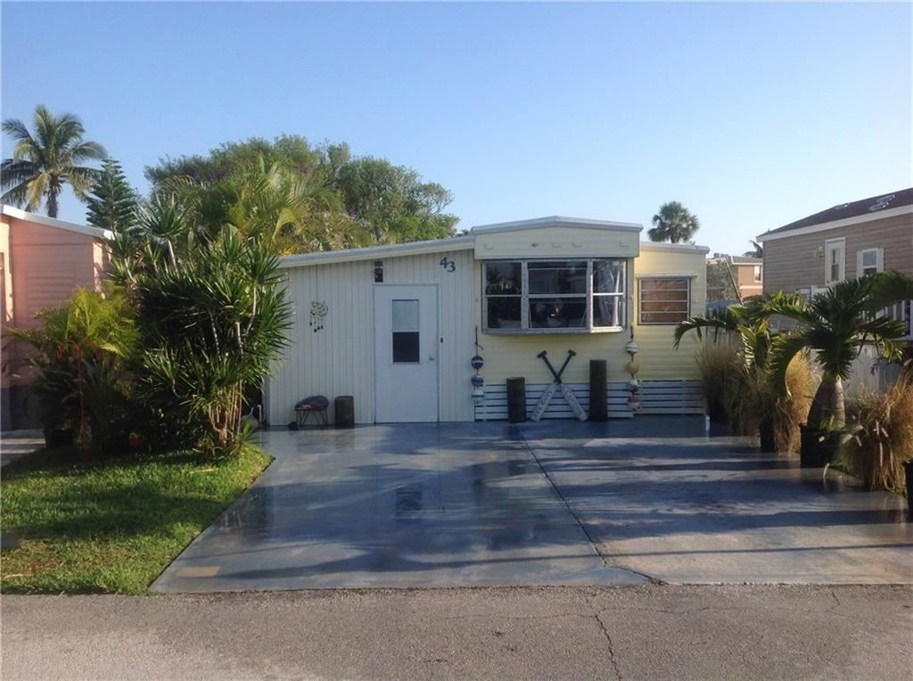 10851 S Ocean Drive 43, Jensen Beach in  County, FL 34957 Home for Sale