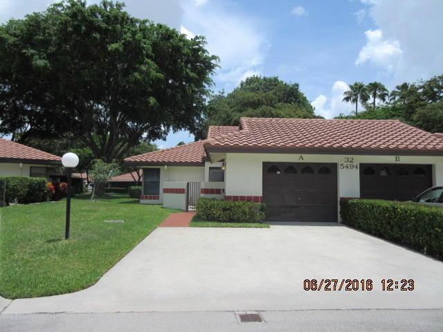 Photo of 5494 Palm Springs Lane Unit A  Boynton Beach  FL