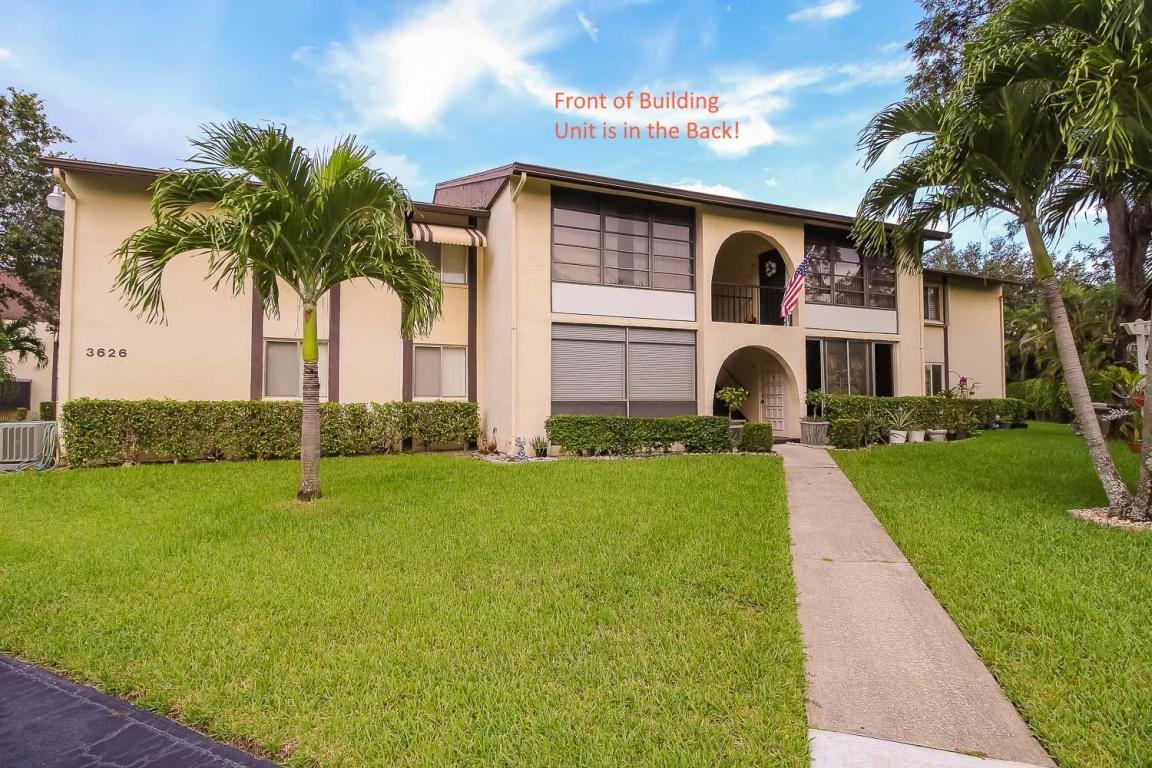 Photo of 3626 La Mar Court Unit B-2  Greenacres  FL