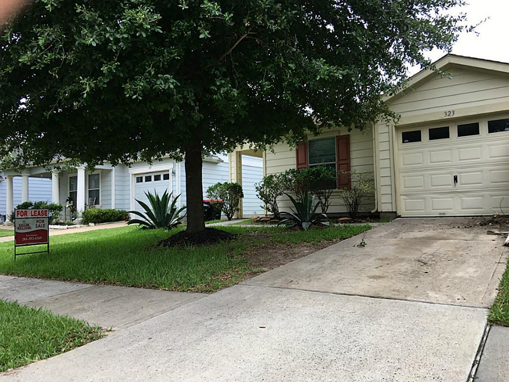 Photo of 323 Remington Creek Drive  Houston  TX