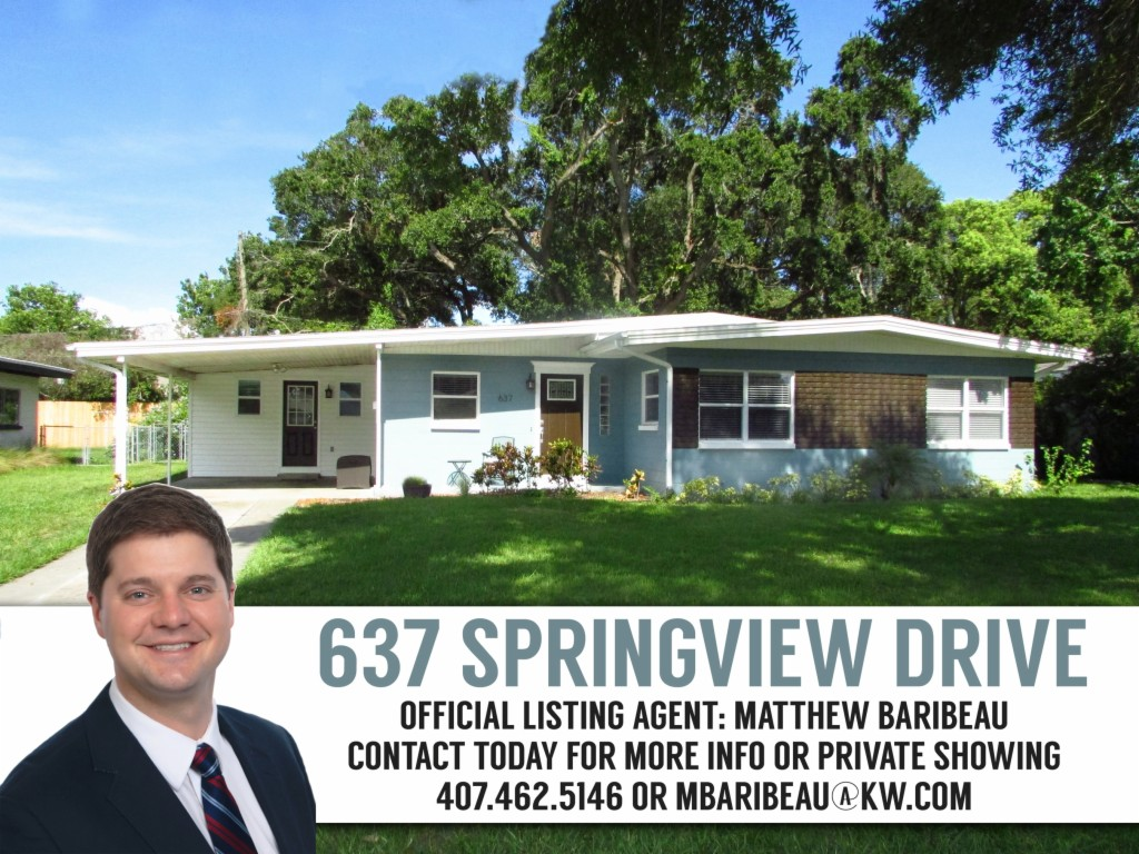 Photo of 637 Springview Drive  Orlando  FL