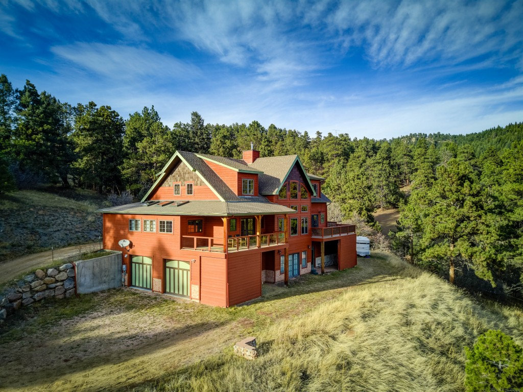 Gated property for sale at 5038 Cameyo Road, Morrison Colorado 80454