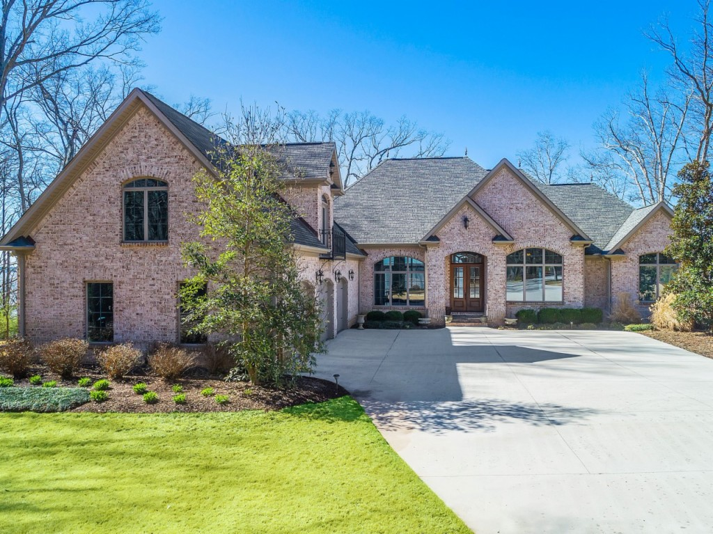 Alabama waterfront property in decatur wheeler lake for Alabama home builders