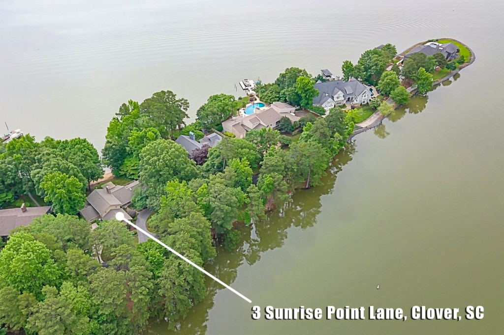 3 Sunrise Point Lane, Lake Wylie South in York County, SC 29710 Home for Sale