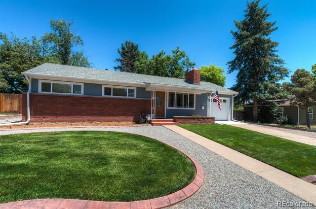 Single Story property for sale at 5710 South Hickory Street, Littleton Colorado 80120