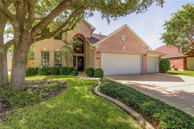 One of Cedar Park 4 Bedroom Homes for Sale at 1247 Fall Creek LOOP