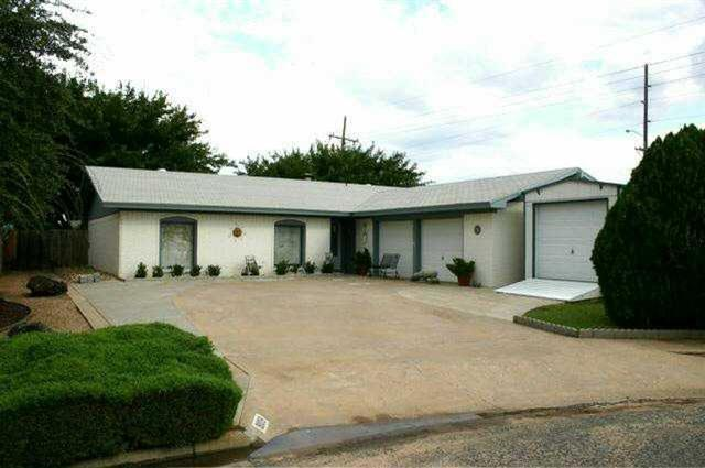 Photo of 8109 Ave W  Lubbock  TX
