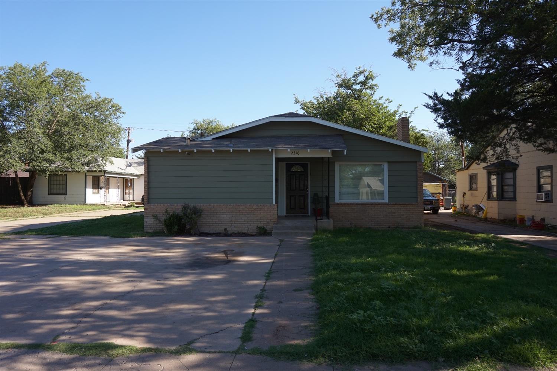 Photo of 2316 21st Street  Lubbock  TX
