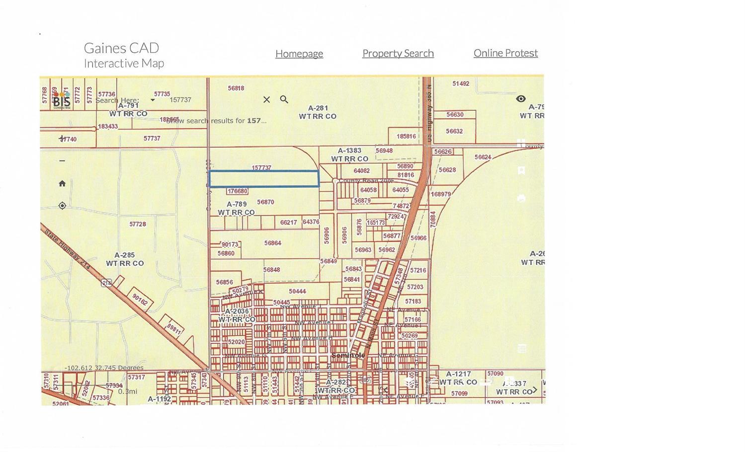 0 County Road 203 Seminole, TX 19360