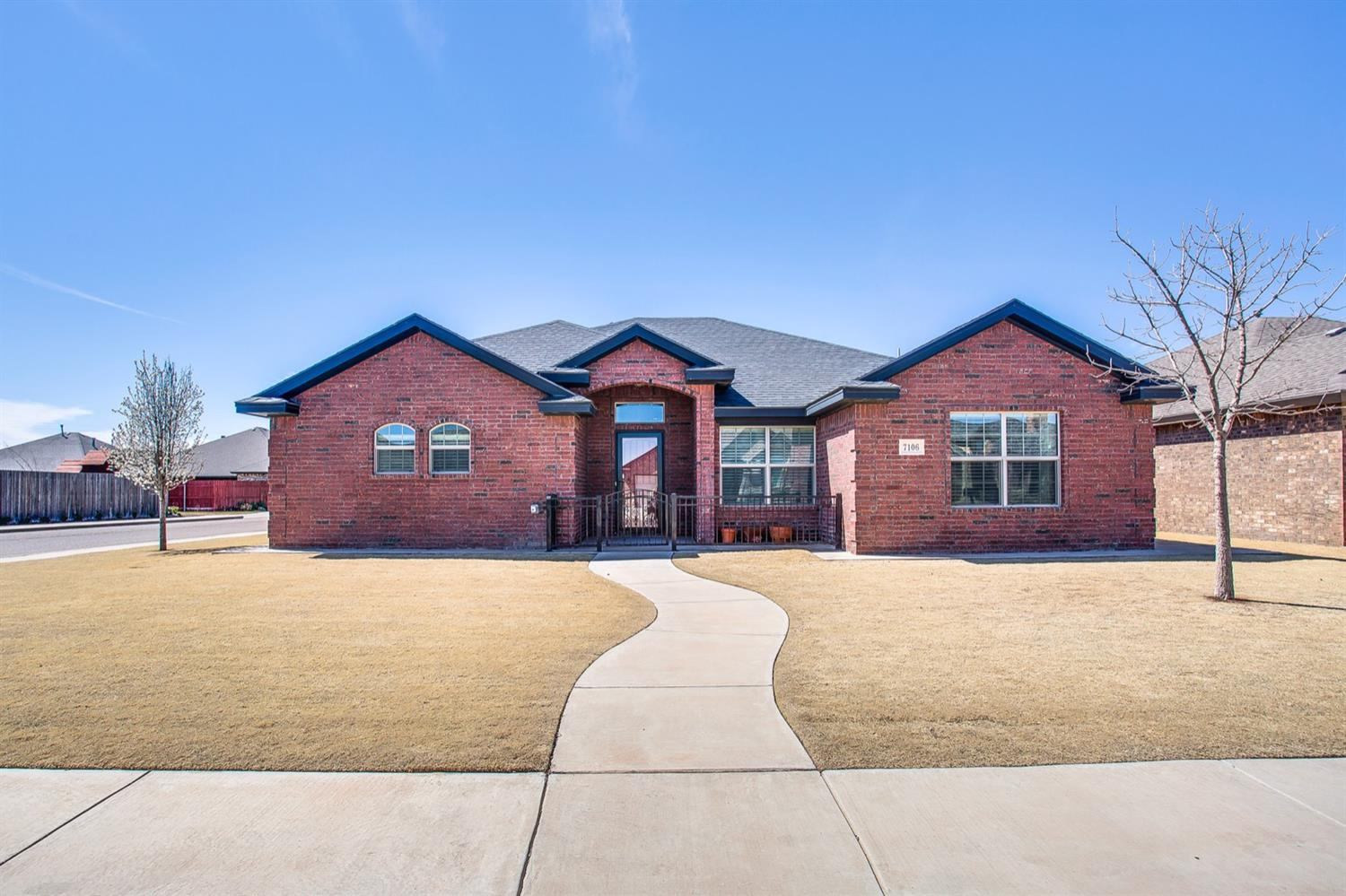 7106 Pontiac Avenue, Lubbock in Lubbock County, TX 79424 Home for Sale
