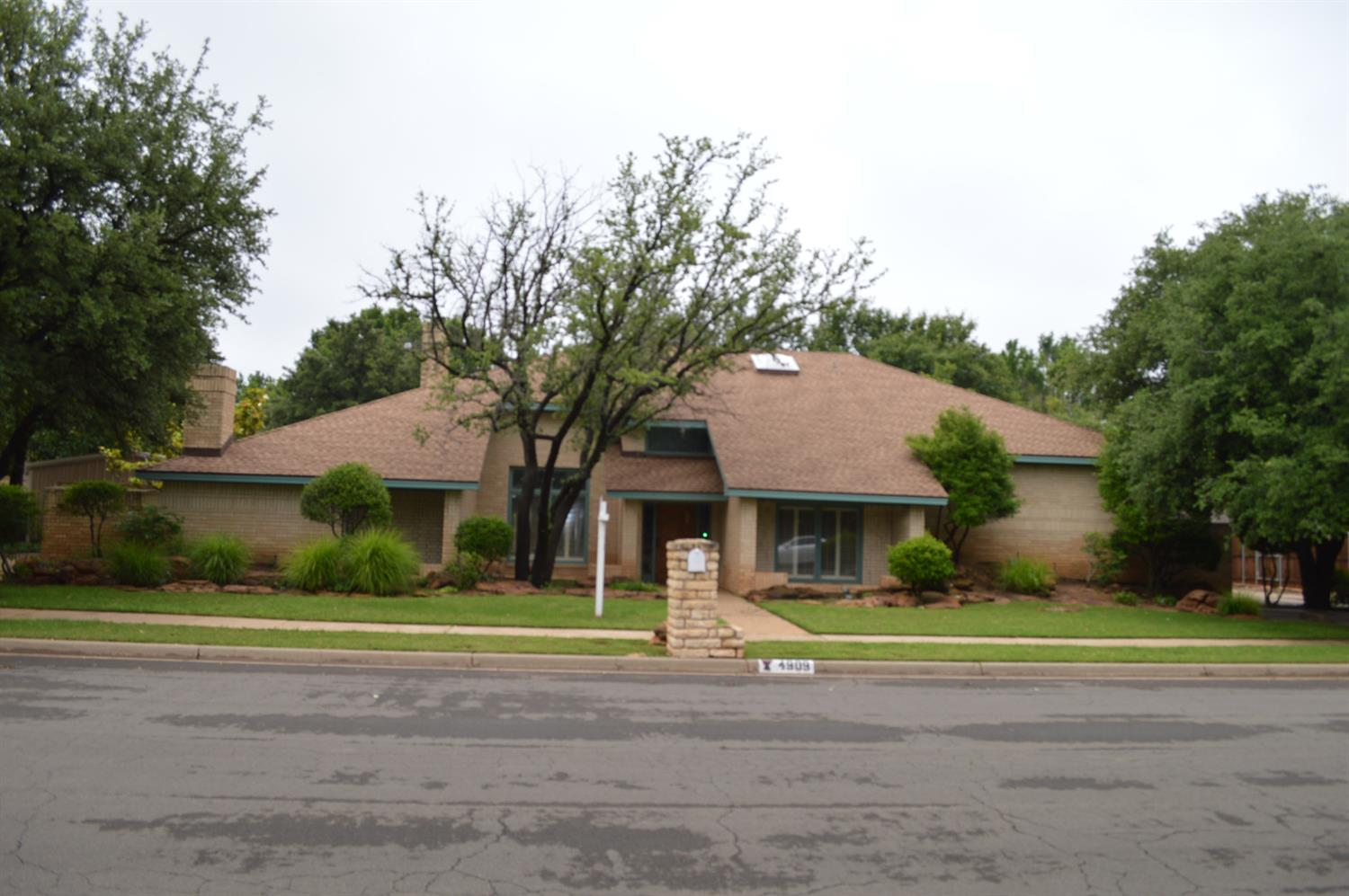 One of Lubbock 4 Bedroom Homes for Sale at 4909 77th Street