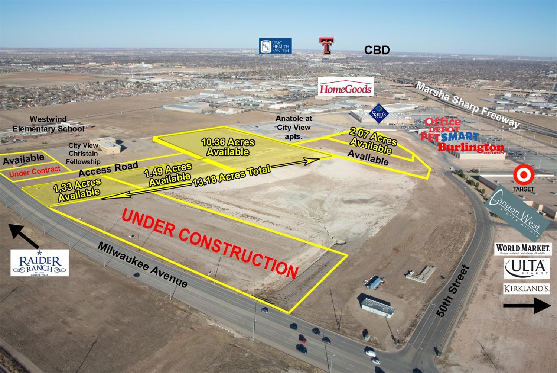 13.18 acres Lubbock, TX